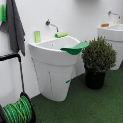 Pot, polypropylene outdoor sink