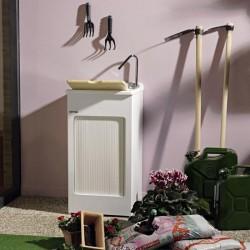 Mobile lavatoio esterno con tavoletta lavapanni - Lavacril