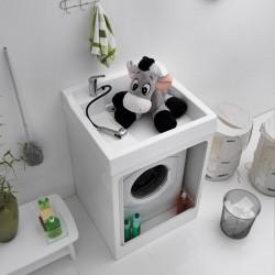Mobile per lavatrice da esterno con vasca - Lavacril on