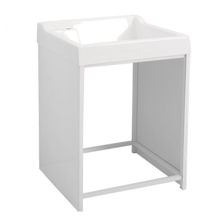 Outdoor cabinet for washing machine with sink - Lavacril on