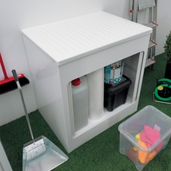 Outdoor laundry cabinet - Lavacril