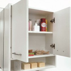 Storage wall cabinet with...