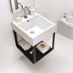Mobile Bagno con lavabo in ceramica sospeso - Volant
