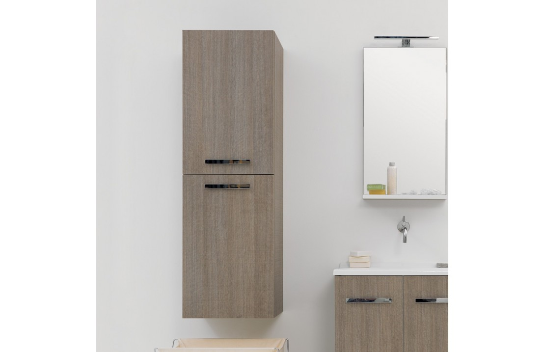 Wall Hung Tall Cabinet With 2 Doors Volant