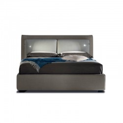Flux with LED light padded bed with or without storage