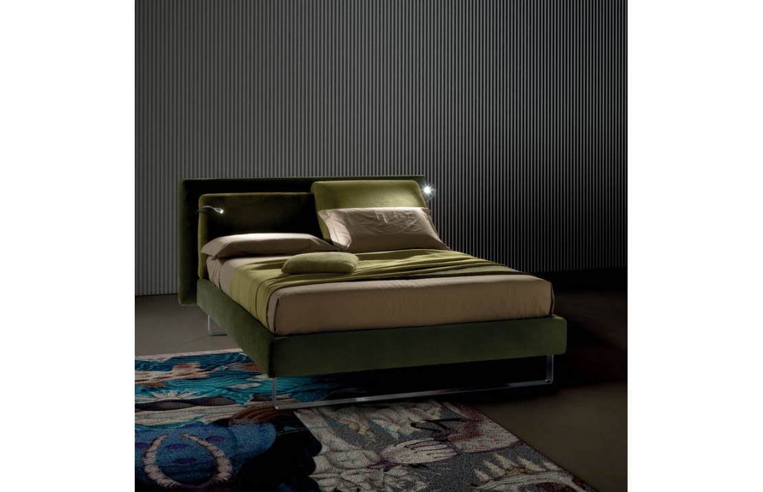 Flux Lift padded bed with light LED