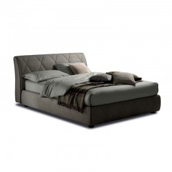 Kilt padded bed with or without storage