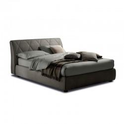 Kilt letto imbottito con o senza contenitore