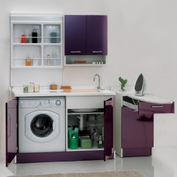 Laundry composition with ironing board - Active Wash