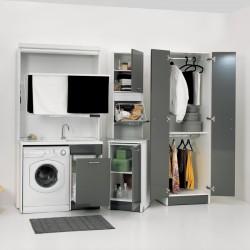 Composizione lavanderia con stender - Active Wash