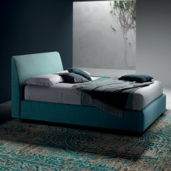 Padded bed with or without storage - Time