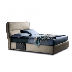 Padded bed with or without storage - Wing