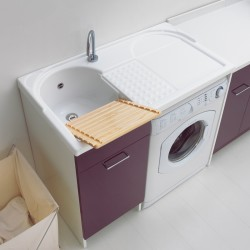 Washing machine Cabinet with washtub - Duo