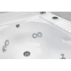 Cabinet washtub with washing system - Active wash