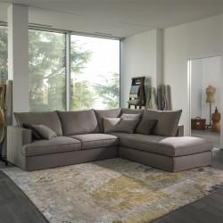 Glammy divano componibile imbottito