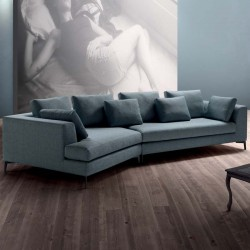 Sugar 05 padded modular sofa