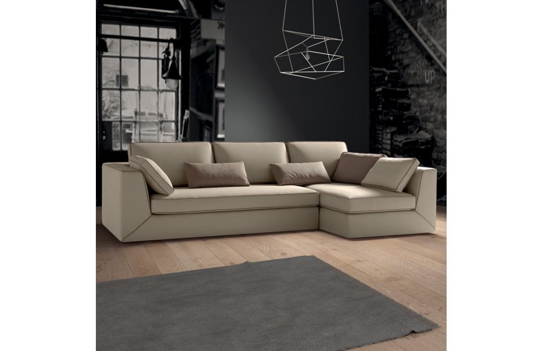 Padded modular sofa - Free 01