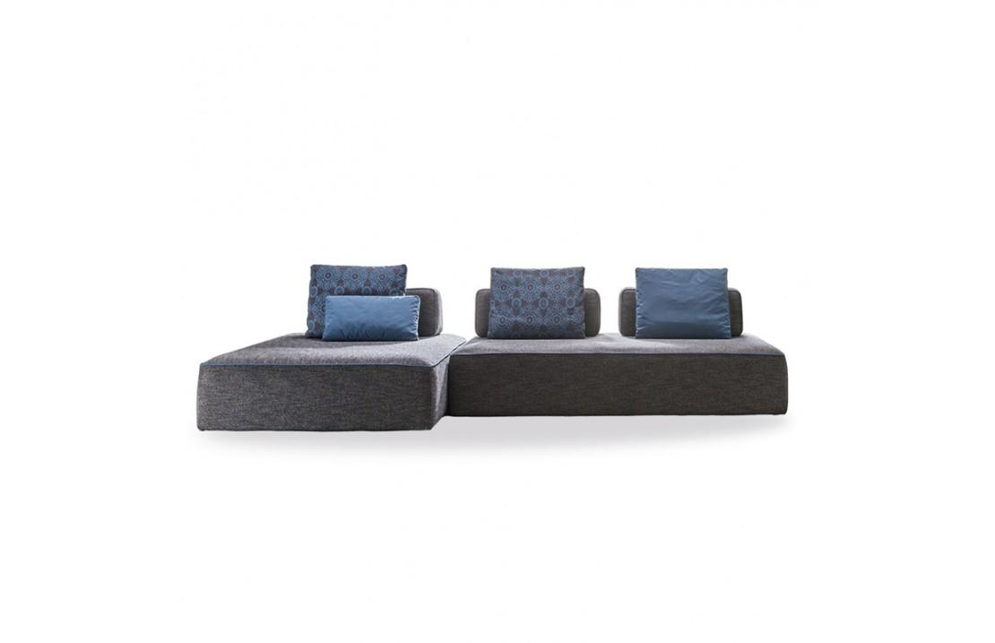 Jest Droll padded modular sofa