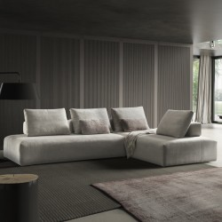 Padded modular sofa - Jest Droll C02