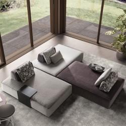 Padded modular sofa - Jest Droll C05