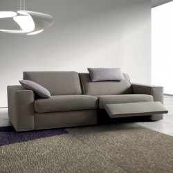 Padded sofa with Relax mechanism - Soul