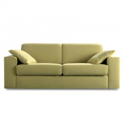 Soul padded modular sofa with fabric or eco-leather cover