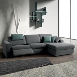 Soul C01 padded modular sofa with Relax mechanism