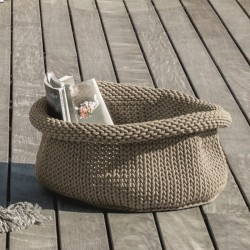 Outdoor storage basket in...