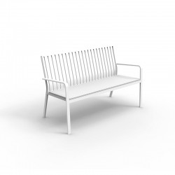 Lady bench with fabric cuschion