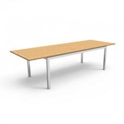 Tavolo allungabile per esterno con piano in teak - Timber