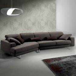 Modular sofa with reclining headrest - Light