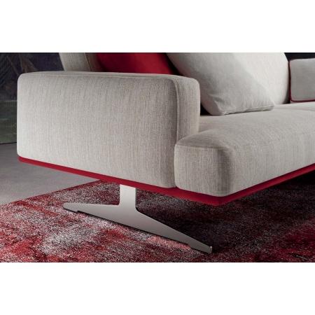 Posh Line 02 divano con poggiatesta regolabile