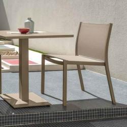 Outdoor stackable armchair in fabric - Minorca