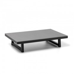 Outdoor coffee table in cement and aluminium - Alabama