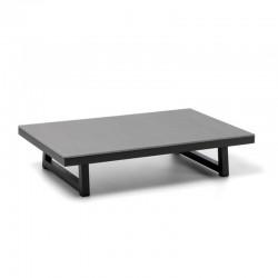 Tavolino da esterno in cemento e alluminio - Alabama