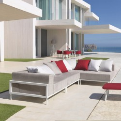 Modular outdoor sofa Cleo...