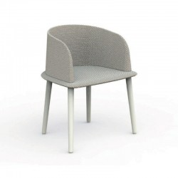 Outdoor padded chair in...