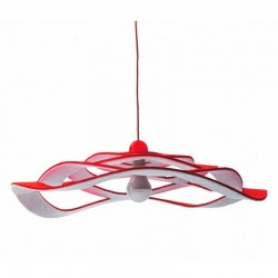 Wave , sound-absorbing lamp