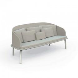 Outdoor sofa in aluminium and fabric - Cleo Love
