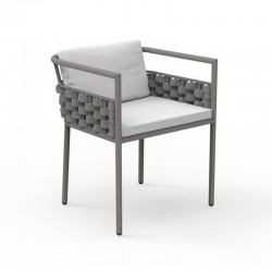 Outdoor dining armchair...