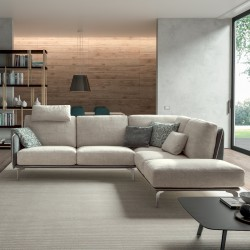Padded sofa - Living Minimal 02