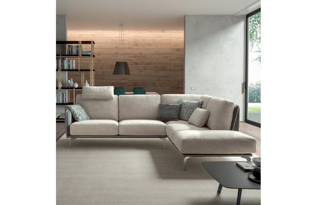 Padded sofa - Living Minimal 02