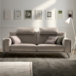 Living Bright padded sofa