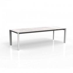 Tavolo allungabile in ceramica da esterno - Milo