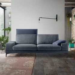 Padded sofa with adjustable backrest - Upper Tidy 02