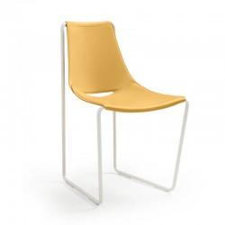 Sedia in cuoio - Apelle S