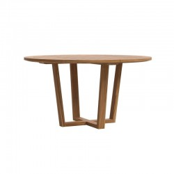 Outdoor round dining table...