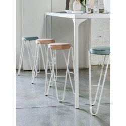 Stool in 3 different sizes H.45/65/75 cm - Apelle