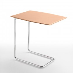 Coffe table with leather covered - Apelle TC