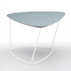 Tavolino Medio in cuoio -...